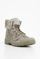 Palladium - Pallabrouse baggy wax boots - brown / khaki