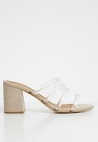 Cotton On - Conga tubed mule heel - neutral