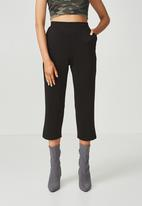 Supré  - Straight legged pants - black