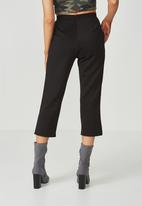 Supré  - Straight legged pants - black