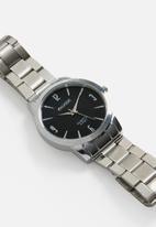 STYLE REPUBLIC - Round analogue watch - silver