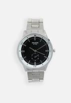 STYLE REPUBLIC - Round analogue watch design - silver