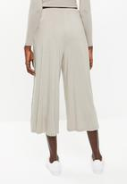 Superbalist - Wide leg cullotes - neutral