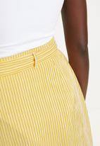 Superbalist - Stripe midi skirt - yellow stripe