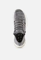 adidas Performance - PureBOOST All Terra - White / Core Black / Grey Heather