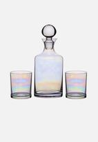 Kitchen Craft - Lustre glass decanter set