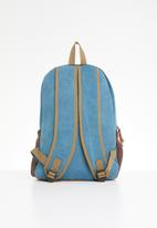 STYLE REPUBLIC - Canvas backpacks - blue
