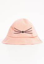 Superbalist - Kids girls bucket hat - pink