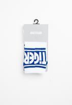Asics Tiger - Lt crew socks - white and blue