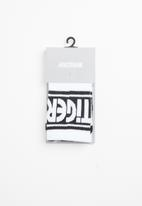 Asics Tiger - Lt crew socks - white and black