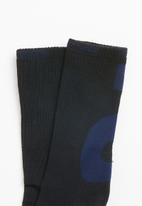 Asics Tiger - BL crew socks - black