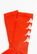 KAPPA - Authentic Amal 1 pack socks - orange