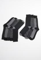 New Look - 5 Pack mono pattern socks - multi