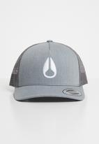 Nixon - Iconed trucker cap heather - grey