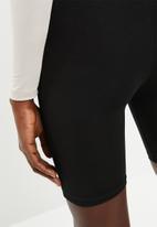 Superbalist - 2 pack bicycle shorts - black