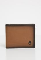 Nixon - Arc bi-fold wallet - tan