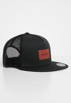 Nixon - Team trucker cap - black