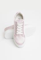 Truffle - Flatform sneaker - pink