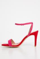 New Look - Wide fit sensie - pink & red