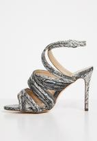 Miss Black - Abida heels - grey
