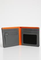 Nixon - Showtime bi-fold ID zip wallet - multi