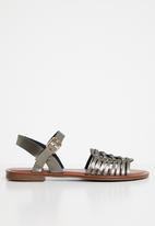Jada - Woven sandals - dark grey