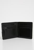 Nixon - Showdown bi-fold zip wallet - black & khaki