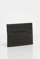 Nixon - Flaco leather card wallet - brown