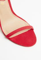 Truffle - Barely there heel - coral