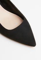 MANGO - Slingback heel shoes - black
