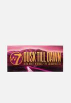 W7 Cosmetics - Dusk till dawn eye shadow palette