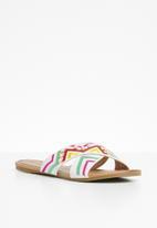 Miss Black - Ishab sandals - white