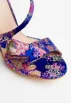 Miss Black - Aneka strappy heels - multi