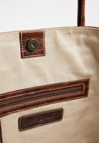 Superbalist - Hold all tote canvas and leather tote - beige