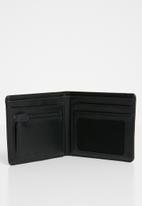 Nixon - Showtime bi-fold id zip wallet - black