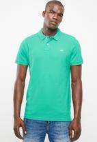 STYLE REPUBLIC - Crown piquet golfer - green