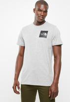 The North Face - Short sleeve fine tee - grey
