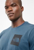 The North Face - Short sleeve fine tee - blue
