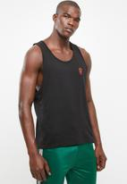 Brave Soul - Deakin scoop neck vest - black