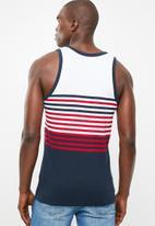 Brave Soul - Naval scoop neck vest - red