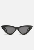 Superbalist - Kids girls cats eye sunglasses - black