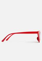 Superbalist - Kids girls cats eye sunglasses - red