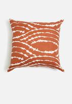 Sixth Floor - Pax cushion cover - rust