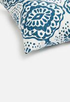 Sixth Floor - North cushion cover - blue & white