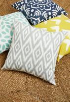 Sixth Floor - Aviv cushion cover - grey