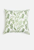 Sixth Floor - Ruby cushion cover - green