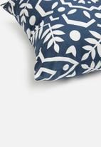 Sixth Floor - Kai cushion cover - navy