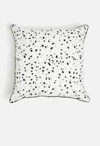 Sixth Floor - Weldon cushion cover - black & white