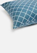 Sixth Floor - Talon cushion cover - blue