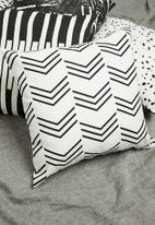 Sixth Floor - June cushion cover - black & white